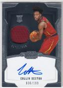 2018-19 Panini Dominion #155 Collin Sexton NM Near Mint RC Rookie MEM Auto 30/199