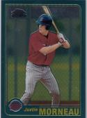 2001 Topps Chrome #T235 Justin Morneau NM Near Mint RC Rookie