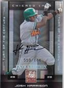 2008 Donruss Elite #57 Josh Harrison NM Near Mint RC Rookie Auto 559/844