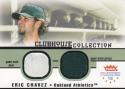 2002 Fleer Platinum Clubhouse Collection # Eric Chavez NM Near Mint MEM