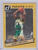 2015-16 Panini Donruss Passing Kings #14 Gary Payton NM Near Mint 9/10