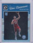 2016-17 Panini Donruss Optic Silver Prizm #151 Ben Simmons NM Near Mint RC Rookie