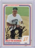 1994 Big League Cards #18 B581 Wally The Beerman Auto
