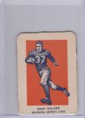 1952 Wheaties Action Hand Cut # Doak Walker