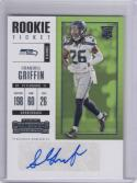 2017 Panini Contenders #173 Shaquill Griffin NM Near Mint RC Rookie Auto