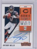 2018 Panini Contenders #120 Anthony Miller NM Near Mint RC Rookie Auto