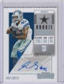 2018 Panini Contenders Rookie Ticket #326 Rod Smith NM Near Mint RC Rookie Auto 21/45