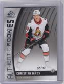2017-18 Upper Deck SP Game Used #163 Christian Jaros NM Near Mint RC Rookie 55/83