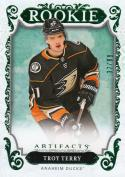 2018-19 Upper Deck Artifacts #180 Troy Terry NM Near Mint RC Rookie 37/99