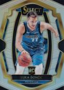 2018-19 Panini Select Silver Prizms #122 Luka Doncic Premier Level NM+