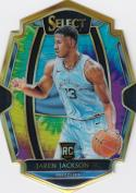 2018-19 Panini Select Tie-Dye Prizms Die Cut #132 Jaren Jackson Jr. Premier Level NM+ 10/25