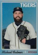 2019 Topps Heritage Chrome Refractor #313 Michael Fulmer NM Near Mint 448/570