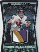 2018 Panini Obsidian Galaxy Gear Electric Etch Green #GG-13 Joe Flacco NM Near Mint MEM 24/25