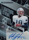 2018 Panini Obsidian Lightning Strike #LS-32 Josh Gordon NM Near Mint Auto 7/35
