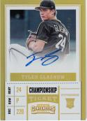 2017 Panini Contenders Championship Ticket #39 Tyler Glasnow NM Near Mint Auto 10/49