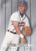 1997 Fleer Ultra Diamond Producer #4 Chipper Jones NM Near Mint