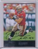 2009 Upper Deck Ultimate Collection #215 Mike Alstott NM Near Mint Auto