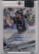 2017 Topps Clearly Authentic #DD David Dahl NM Near Mint RC Rookie Auto