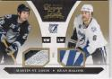 2010-11 Panini Luxury Suite #94 Martin St Louis Ryan Malone NM Near Mint MEM 3/10