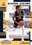 2019-20 Panini Collegiate Draft Picks School Colors #2 Ja Morant NM Near Mint