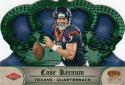 2012 Panini Crown Royale Green #162 Case Keenum RC Rookie 19/49