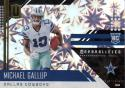 2018 Panini Unparalleled Impact #227 Michael Gallup RC Rookie 29/75