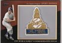 2010 Topps Commemorative Patch #120 Duke Snider