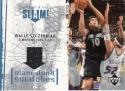 2005-06 Upper Deck Slam Dunk Swatches #WS Wally Szczerbiak MEM