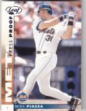 2002 Donruss LEaf Press Proof #86 Mike Piazza