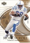 2003 Upper Deck Honor Roll Gold #74 Marvin Harrison 4/25