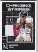 2018 Panini Donruss Changing Stripes #13 Michael Vick MEM 16/25