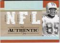 2007 Playoff National Treasures Timeline #MD Mark Duper MEM 50/50