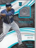 2016 Panini Immaculate Button #MS Miguel Sano RC Rookie MEM 10/10