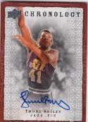 2007-08 Upper Deck NBA Chronology #9 Thurl Bailey Auto