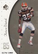 1999 Upper Deck SP Authentic #108 Kevin johnson RC Rookie /1999