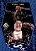 1998-99 UD Choice StarQuest Blue #SQ30 Michael Jordan EX Excellent