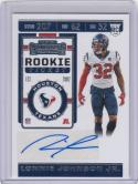 2019 Panini Contenders #251 Lonnie Johnson Jr RC Rookie Auto