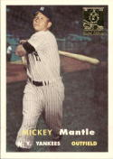 1996 Topps Mantle Case #7 Mickey Mantle 1957 Topps NM Near Mint