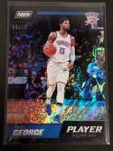 2018-19 Panini Player of the Day Rapture #11 Paul George NM Near Mint 03/10