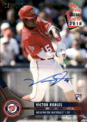 2018 Topps National Baseball Card Day Autographs #AU-VR Victor Robles /100 NM Near Mint Auto