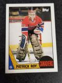 1987-88 Topps #163 Patrick Roy NM Near Mint