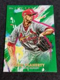 2020 Topps Inception Green #59 Jack Flaherty NM Near Mint
