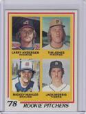 1978 Topps #703 Jack Morris Larry Andersen Tim Jones Mickey Mahler RC Rookie