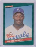 1986 Donruss #38 Bo Jackson RC Rookie