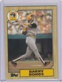 1987 Topps #320 Barry Bonds RC Rookie
