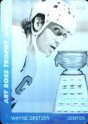 1991-92 Upper Deck Czech World Juniors Wayne Gretzky Art Ross Hologram EX Excellent