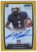Ray Graham 2013 Bowman Chrome Rookie Autograph Gold Refractor #13/75